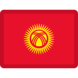 Flag: Kyrgyzstan on Facebook 2.1