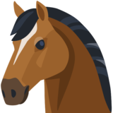 🐴 Horse Face Emoji on Facebook 2.1