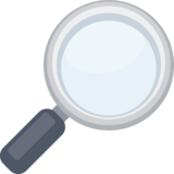 Magnifying Glass Tilted Right on Facebook 2.1