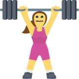Woman Lifting Weights on Facebook 2.1
