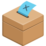 Ballot Box With Ballot on Facebook 2.2