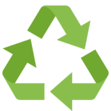 Recycling Symbol on Facebook 2.2