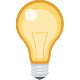 Light Bulb Emoji on Facebook 2.2 Sun And Light Bulb Emoji