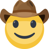 Cowboy Hat Face on Facebook 2.2