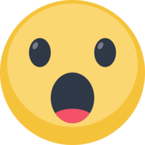 Face With Open Mouth on Facebook 2.2