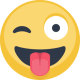 Winking Face with Tongue on Facebook 2.2