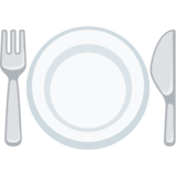 Fork and Knife with Plate on Facebook 2.2