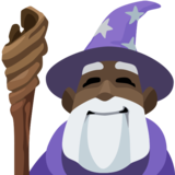 Man Mage: Dark Skin Tone on Facebook 2.2
