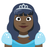 Princess: Dark Skin Tone on Facebook 2.2