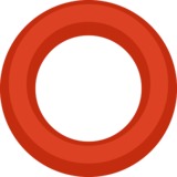 Hollow Red Circle on Facebook 2.2.1