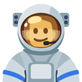 Man Astronaut: Medium-Dark Skin Tone on Facebook 2.2.1