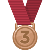 3rd Place Medal on Facebook 2.2.1