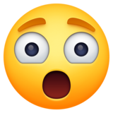 Astonished Face on Facebook 3.0