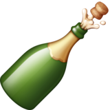 Bottle with Popping Cork on Facebook 3.0