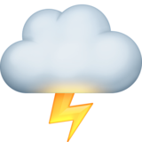 Cloud With Lightning on Facebook 3.0