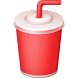 Cup With Straw on Facebook 3.0