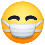 Face with Medical Mask on Facebook 3.0