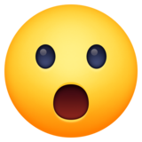 Face With Open Mouth on Facebook 3.0