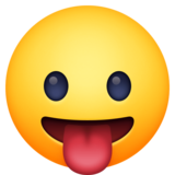 Face with Tongue on Facebook 3.0
