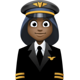 Woman Pilot: Dark Skin Tone on Facebook 3.0