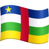 Flag: Central African Republic on Facebook 3.0