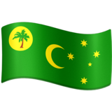 Flag: Cocos (Keeling) Islands on Facebook 3.0