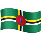 Flag: Dominica on Facebook 3.0