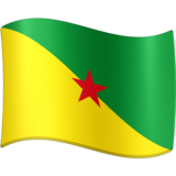 Flag: French Guiana on Facebook 3.0