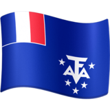 Flag: French Southern Territories on Facebook 3.0