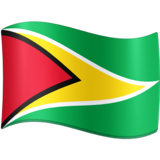 Flag: Guyana on Facebook 3.0