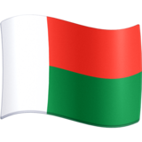 Flag: Madagascar on Facebook 3.0