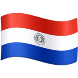 Flag: Paraguay on Facebook 3.0