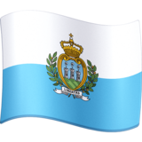 Flag: San Marino on Facebook 3.0