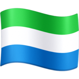 Flag: Sierra Leone on Facebook 3.0
