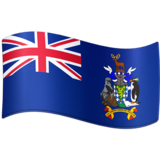 Flag: South Georgia & South Sandwich Islands on Facebook 3.0