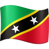 Flag: St. Kitts & Nevis on Facebook 3.0