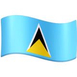 Flag: St. Lucia on Facebook 3.0
