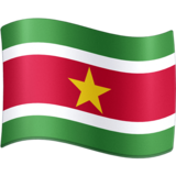 Flag: Suriname on Facebook 3.0