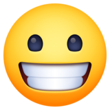 Grinning Face on Facebook 3.0