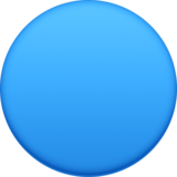 Blue Circle on Facebook 3.0