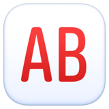 AB Button (Blood Type) on Facebook 3.0