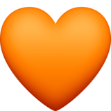 Orange Heart on Facebook 3.0