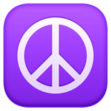 Peace Symbol on Facebook 3.0