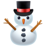 Snowman Without Snow on Facebook 3.0