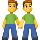 Two Men Holding Hands on Facebook 3.0