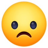 Frowning Face on Facebook 3.0