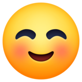Smiling Face on Facebook 3.0