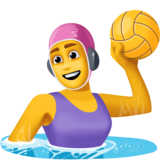Woman Playing Water Polo on Facebook 3.0