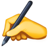 Writing Hand on Facebook 3.0