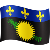 Flag: Guadeloupe on Facebook 3.1